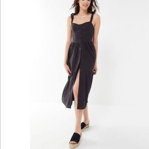 Urban Outfitters Tie Shoulder Dress